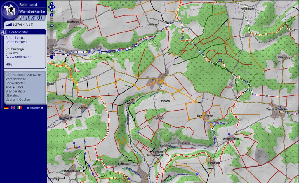 osm wanderkarte Reit  und Wanderkarte – Jahresrückblick   OSMBlog osm wanderkarte