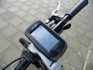 Cyclo montiert am Fahrrad
