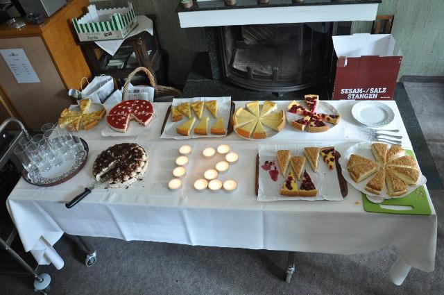 Kuchen auf dem OSM-SommerCamp 2016