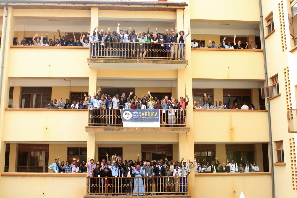Teilnehmerfoto der SotM Africa