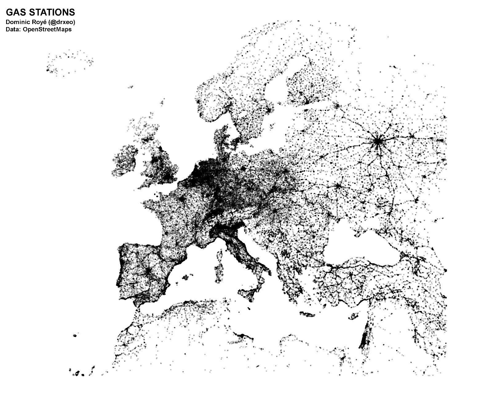 Tankstellen in Europa