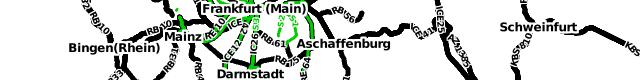 Darstellung von Hauptbahnhöfen in der openptmap