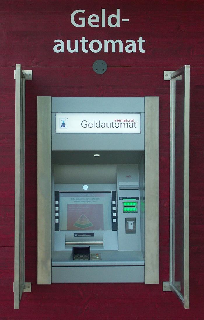 Bild eines Geldautomat