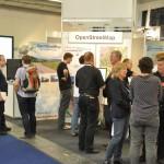 OSM-Stand auf der Intergeo 2014 (CC-BY-SA 2.0 Nakaner/OSM-Wiki)