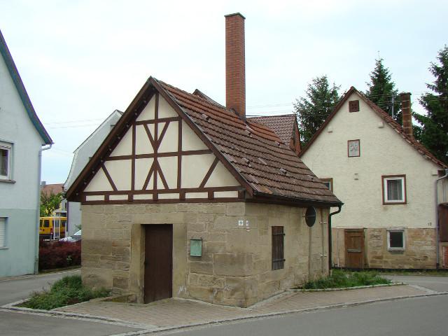Beispiel eines Backhauses
