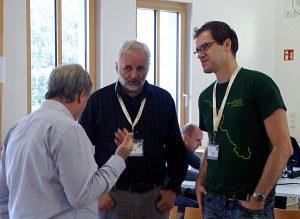 Wikivoyage und Karten für Reiseführer - Diskussionen auf dem Elbe-Labe-Meeting 2016 in Dresden.